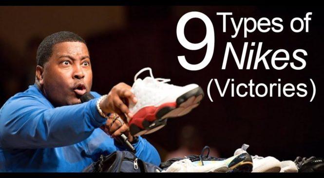 9 Types of Nikes (Victories) | Dr. E. Dewey Smith, Jr.